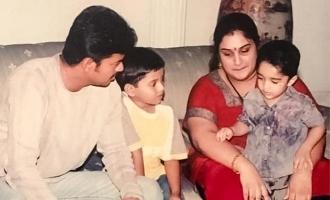 Vanitha Vijayakumar recalls forcing Thalapathy Vijay to sing SPB song for her