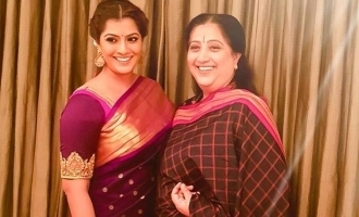 Varalaxmi Sarathkumar and her mom's personal help to migrant labourers once again