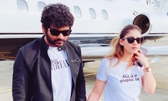 Nayanthara - Vignesh Shivan back to Chennai, photos turn viral!