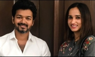 Thalapathy Vijay's memorable gift to Archana Kalpathi