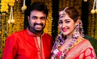 Sayyeshaa's sweetest wishes for brother AL Vijay!