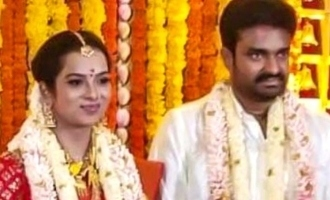 Director AL Vijay blessed with a baby!
