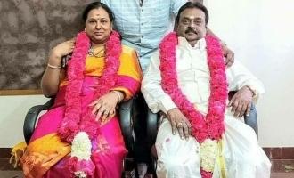 Captain Vijayakanth celebrates his wedding anniversary in private