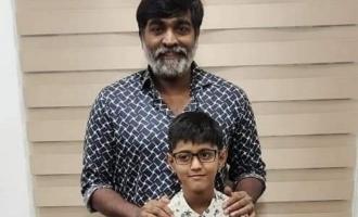 Vijay Sethupathi immediately fulfills the wish of a little boy battling cancer