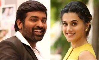 Is this the catchy title of Vijay Sethupathi-Tapsee movie with a Hollywood touch?