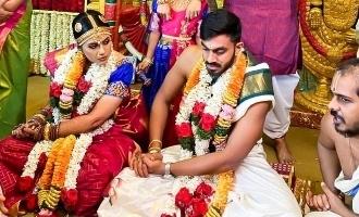 [PICTURES] Cricketer Vijay Shankar gets married to Vaishali
