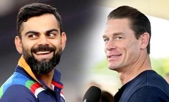WWE star John Cena shares Virat Kohli's picture ahead of WTC final; Post goes viral
