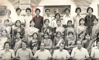 சினிமாவிற்கு வருவதற்கு முன் 1983ல் எடுத்த விவேக்கின் புகைப்படம் வைரல்!