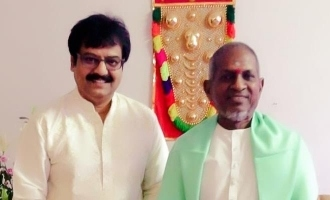 Vivek's musical wishes to Isaignani Ilaiyaraaja!