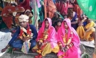 காதலிக்காக ஒன்று, பெற்றோருக்காக ஒன்று: ஒரே நேரத்தில் 2 பெண்களுக்கு தாலி கட்டிய இளைஞர்