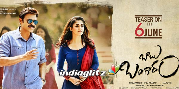 Babu Bangaram Music Review
