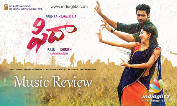 Fidaa Music Review