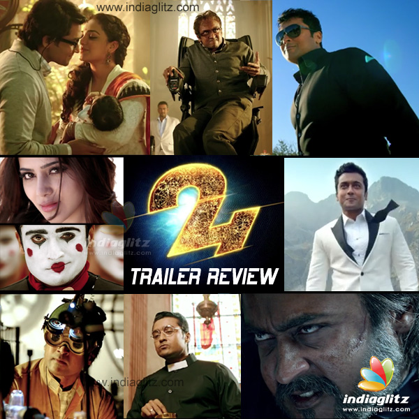 Suriya's 24 Trailer Review - Malayalam News - IndiaGlitz com