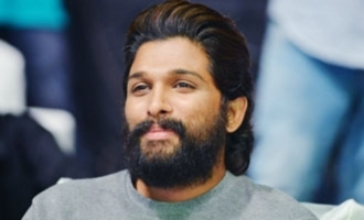 Allu Arjun is proud on his brother's first 100M song