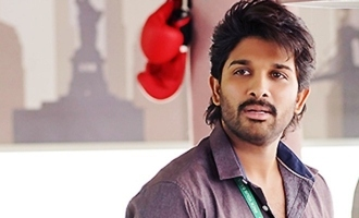 Stylish Allu Arjun in action