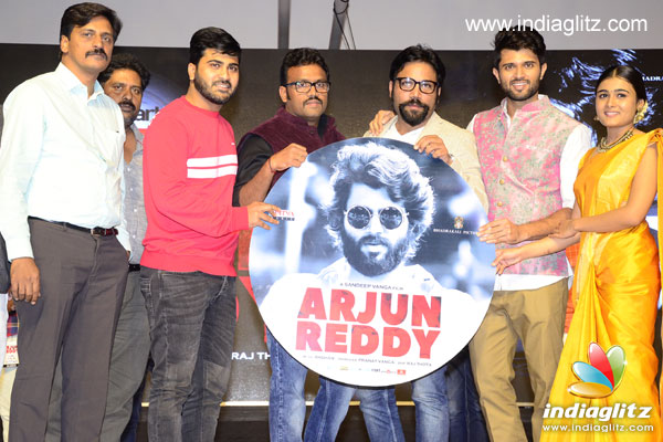 41c26b12a2 The pre-release event of  Arjun Reddy  was held at N Convention in  Hyderabad. Besides the cast and crew members
