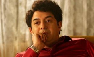 Aravind Swamy gets into MGR mode in Teaser