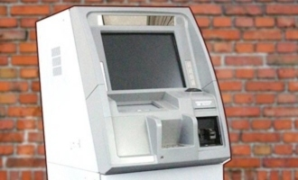Thieves take away ATM machine as they fail in taking money