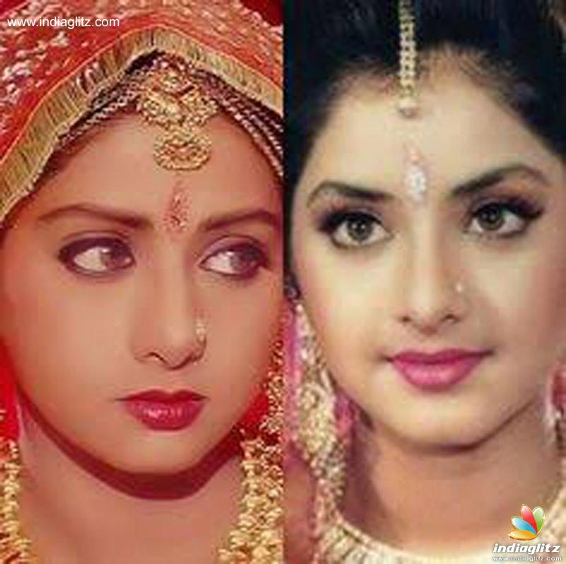 Sridevi Divya Bharti The Coincidence Telugu News Indiaglitz Com