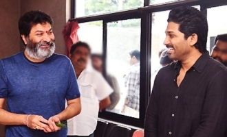 Tabu welcomed royally by Bunny-Trivikram team