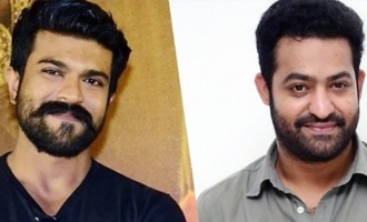 'RRR': Is Ram Charan beating up NTR?