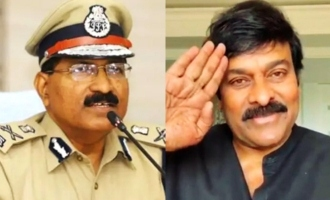 Your words mean a lot to us: DGP to Chiranjeevi
