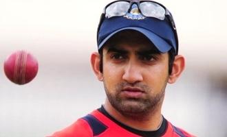 Highlighting Dhoni's sixer irritates Gautam Gambhir