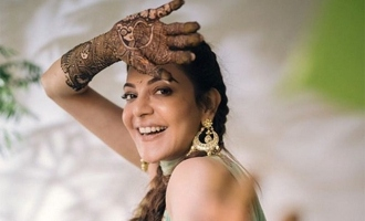 Pic Talk: Kajal Aggarwal's mehendi function held ahead of wedding