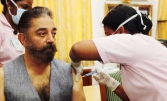 Pic Talk: Kamal Haasan takes coronavirus vaccine jab