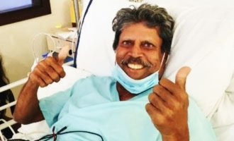 Kapil Dev is recovering after undergoing emergency angioplasty