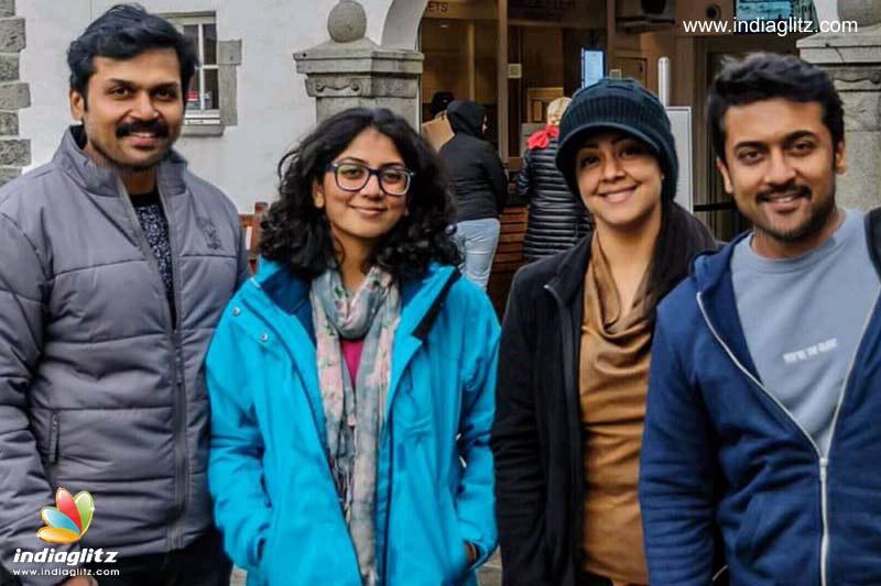 Suriya, Karthi & their wives to trek in Norway - Telugu News