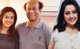 Keerthy, Meena in Rajinikanth's film raises expectations