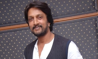 Sudeep elated about 'Sye Raa' with Hindi star