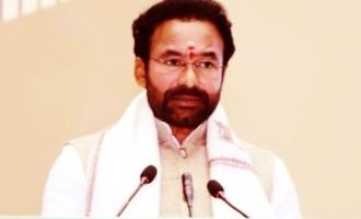 కేంద్ర మంత్రి కిషన్రెడ్డిపై సీనియర్ నటి ఫైర్!
