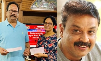 Krishnam Raju's family, Naresh donate Rs 10 lakh each