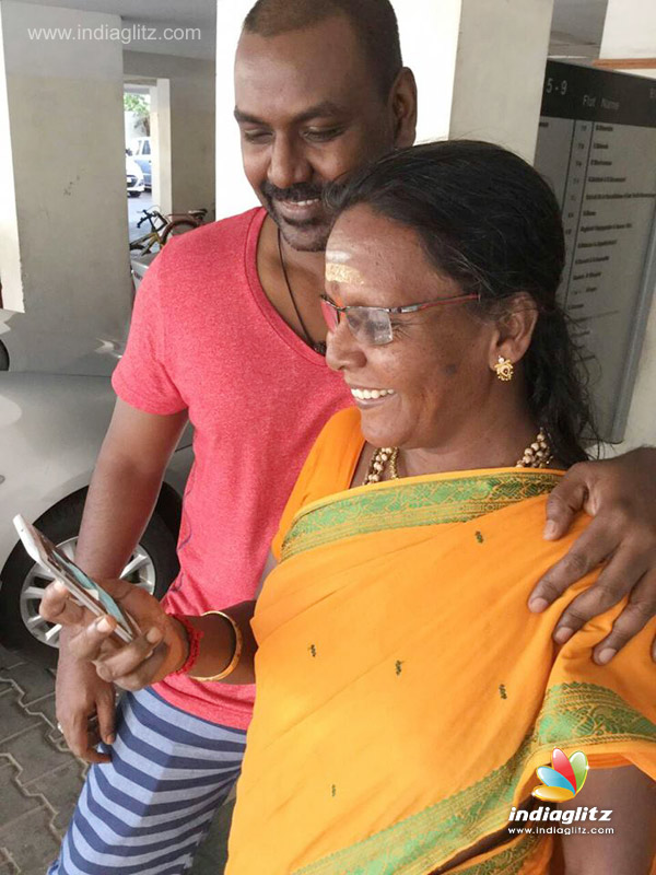 Lawrence Dedicates Temple To All Mothers Telugu Movie News