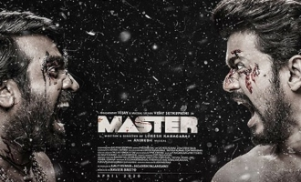 Vijay & Vijay are ferocious in 'Master' look