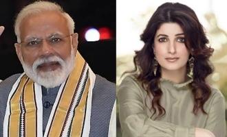 Modi jokes about Akshay's wife, she reacts