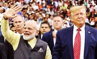 Howdy Modi: Trump's speech wins Modi's standing ovation