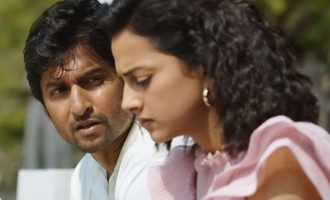 Shraddha's lip kiss on Nani