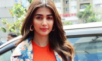 Pooja Hegde promotes Yoga on special day in style