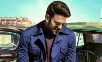 Whoa! Prabhas looks uber cool as Vikramaditya in 'Radhe Shyam' look