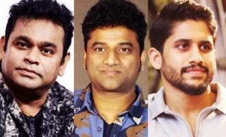 AR Rahman, DSP, Naga Chaitanya & others promote Shruti Haasan's 'Edge'