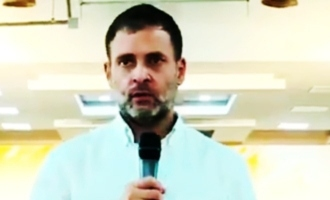 Industrialist's painful message at Rahul Gandhi's meet goes viral