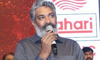 'Sye Raa' fulfills Chiranjeevi garu's wish: Rajamouli
