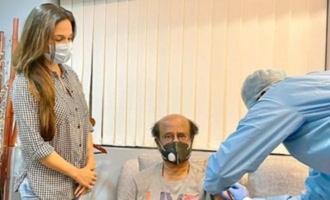 Pic Talk: Rajinikanth receives vaccination