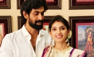 Pic Talk: Rana Daggubati celebrates Dasara with wife Miheeka
