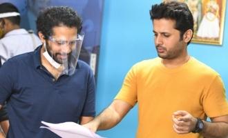 Potential Sankranthi release Nithiin-Keerthy Suresh's 'Rang De' goes on floors