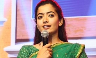 Don't watch 'Dear Comrade' for romance: Rashmika