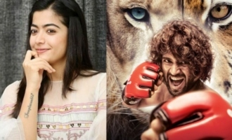Look what Rashmika will do while watching Vijay Deverakonda's 'Liger'
